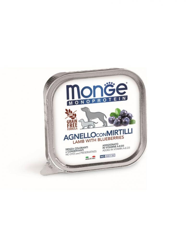 MONO蔬果 羊肉+藍莓 無穀主食犬餐盒