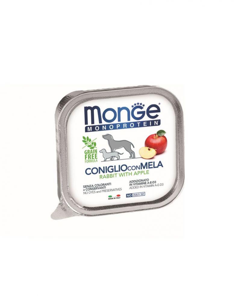 MONO蔬果 兔肉+蘋果  無穀主食犬餐盒