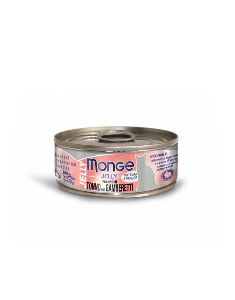 鮪魚+鮮蝦 晶凍貓罐